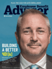 Chad Parks on Cover of Employee Benefit Adviser Magazine